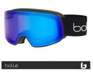 Bollé Masque de Ski Nevada SMALL Black Corp Matte - Phantom + Cat-1-3