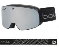 Bollé Masque de Ski Nevada SMALL Black Silver Matte Black Chrome