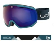 Bollé Masque de Ski Northstar - Petrol Blue Matte - Bronze Blue