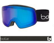 Bollé Masque de Ski Nevada Black Cross Matte Phantom + Cat-1-3