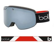 Bollé Nevada Black Red Matte Black Chrome