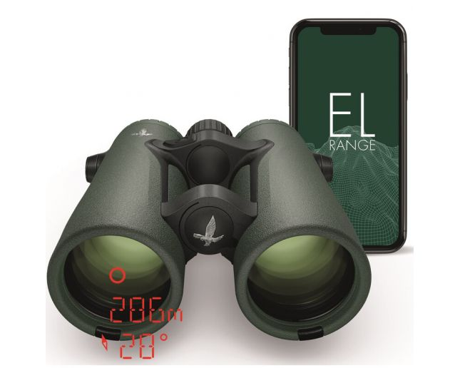 Swarovski EL Range 8x42 TA W B Swarovision Vert Fieldpro - Jumelle Télémètre Laser