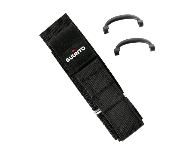 Suunto Bracelet Vector Velcro Noir